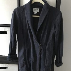 Lucky Brand Thick Navy Cardigan